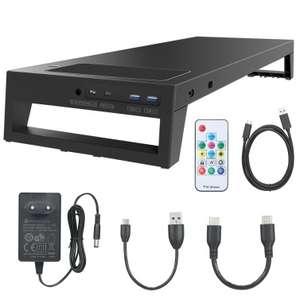 LANQ PCDock Pro Max monitorstandaard voor €50,99 @ Tomtop