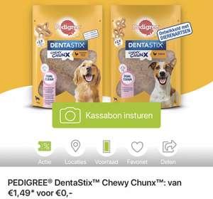 Gratis PEDIGREE® DentaStix Chewy Chunx bij Scoupy