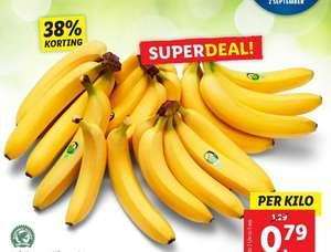 Lidl: kilo bananen voor 79 cent