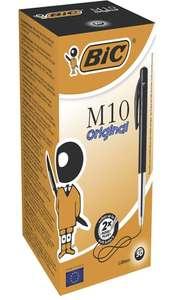 BIC Ballpoint M10 Original pen 50 stuks zwart