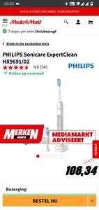 Philips Expert Clean 7500 Sonische Tandenborstel