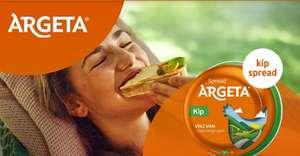 Probeer gratis Argeta kipspread (cashback)