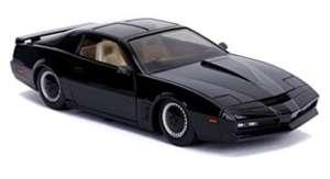 Jada Toys 253255000 Knight Rider Kitt, 1982 Pontiac Trans AM, voorlicht, incl. batterijen, zwart