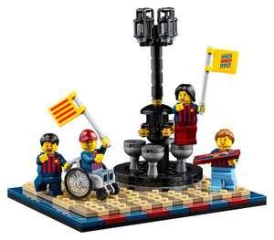 Lego.com - GWP FC Barcelona viering (40485) 'gratis' bij aanschaf Camp Nou – FC Barcelona (10284)
