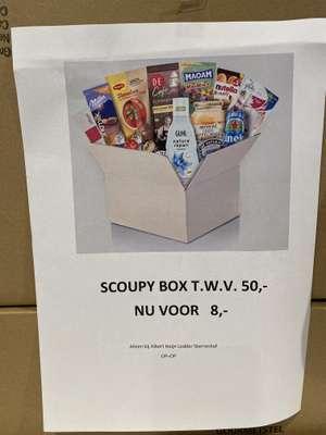 Scoupy box twv 50 euro voor 8 euro @AH Spijkenisse
