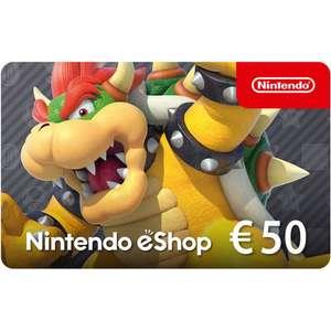 Nintendo Eshop tegoed van €50 voor €40,80
