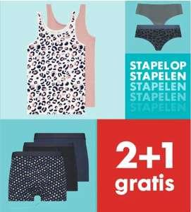 Ondergoed: 2+1 gratis | nu al 3 slips voor €4