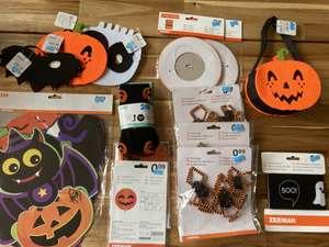Halloween versiering afgeprijsd bij Zeeman (Lokaal)