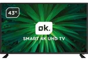 """OK. ODL43642U-TAB 43"""" 4K Android TV"""