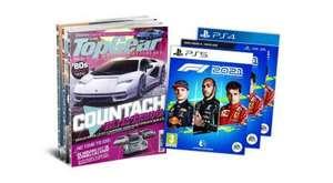 6x TopGear Magazine + F1 2021 PS5/PS4/XBX