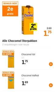 2de gratis Chocomel bonus box