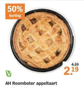 Albert Heijn Roomboter appeltaart voor €2,19 (normaal €4,39)