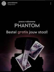 Gratis staaltje Paco Rabanne Phantom (BE & NL)
