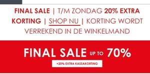 20% extra korting op sale Jeanscentre