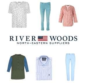 River Woods [dames / heren / kids] tot -80+% + 15% of €10 extra korting