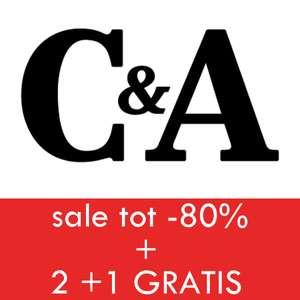 ALLE sale 2+1 GRATIS - nu al tot 70+% korting