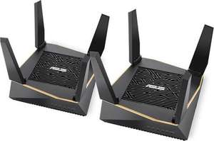 Asus RT-AX92U Duo pack tri-band Wifi 6 mesh router