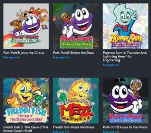 Humble Bundle Game Bundle - $221 aan nostalgie! o.a. Freddi Fish, Pajama Sam, Putt Putt en Spy Fox