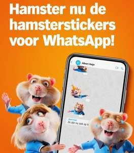 Gratis Hamsterterééééén stickers voor Whatsapp @ AH