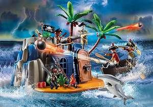 [Playmobil] Pirateneiland met schuilplaats voor schatten