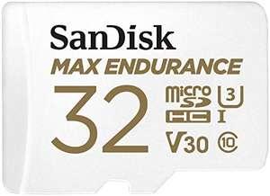 Sandisk MAX Endurance (120.000 uur opnemen) v30 MicroSD