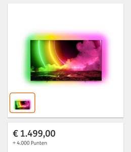 (ING Rentepunten) Philips 55'' OLED 4K UHD TV (55OLED806/12)