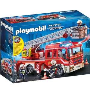 Playmobil Speelgoed Brandweer-ladderwagen 9463