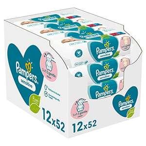 Pampers Sensitive Babydoekjes (2496 stuks)