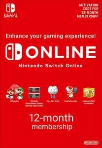 1 jaar Nintendo Switch Online voor €14,61 @ Eneba