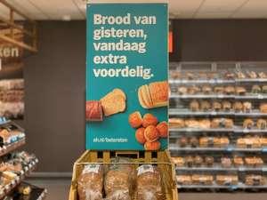 Alle broden ( ook luxe) van gisteren €0.50 per brood @AH