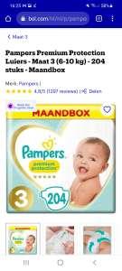 Pampers Premium Protection maat 3 voor 13 ct per stuk