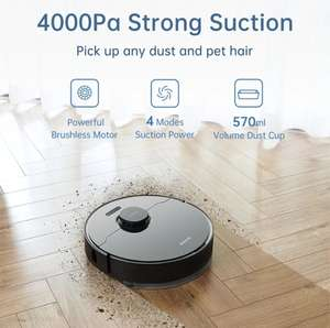 Dreame Bot L10 Pro Robot Stofzuiger Lidar