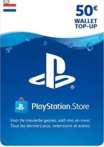 €50 PlayStation tegoed kaart (Nederland)