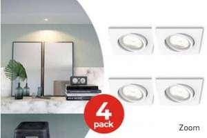 4-Pack Philips MyLiving Dimbare Inbouwspot