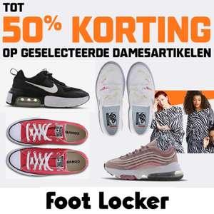 Dames sale: veel met 50% @ Foot Locker