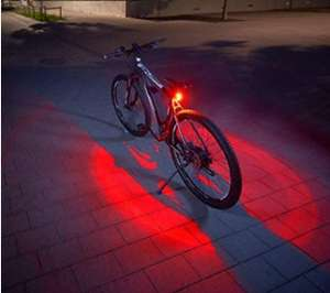 Fischer Twin Bicycle Rear Light with 360 degree illumination
