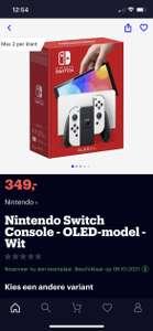 Switch OLED Pre-Order bol.com