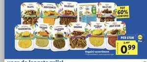 Alle vega(n) vleesvervangers €0,99 met Lidl Plus app
