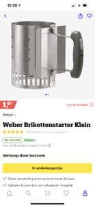 Weber brikketenstarter klein