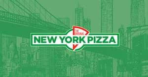Tweede pizza gratis @New York Pizza