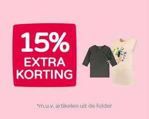 15% extra korting op afgeprijsde kleding @ Prénatal