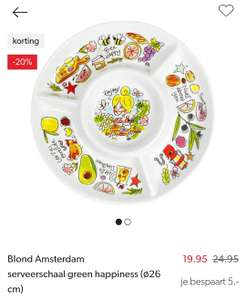 20% korting op green happiness Blond Amsterdam Wehkamp