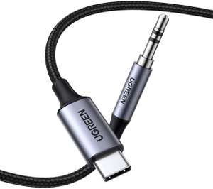 UGREEN USB-C naar AUX kabel voor €9,99 @ Amazon.nl