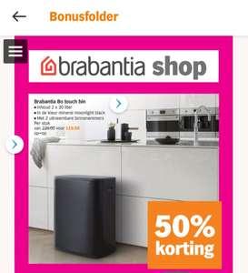 Brabantia Bo Touch Bin (2x 30L)