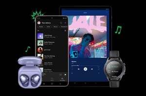 3 maanden gratis Spotify Premium op een Samsung device