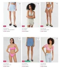 Verschillende PULL&BEAR (dames)kleding voor €5,99 per stuk @ Zalando