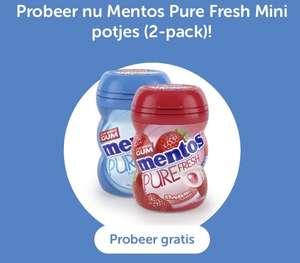 Gratis Mentos Pure Fresh Mini 2-pack @ Tikkie