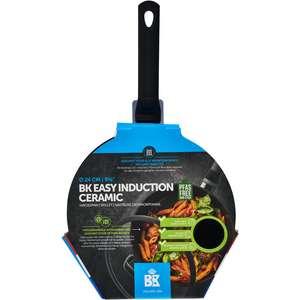 BK Easy induction ceramic hapjespan en andere pannen 50% korting