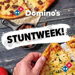 LAATSTE DAG Domino's Stuntweek | pizza's voor €3,99 | pizza's voor €2,99 tot 14.00 uur