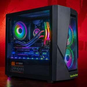 GameMachines Rage - RGB Gaming PC - Waterkoeling - AMD Ryzen 5 5600X - NVIDIA GeForce RTX 2060-500GB SSD - 2 TB harde schijf - 16GB DDR4
